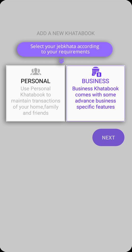 Personal & Business account Jebkhata